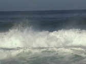 Wave Exploding Stock Footage