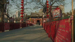 Dongyue Taoist Temple in Beijing, China Stock Footage