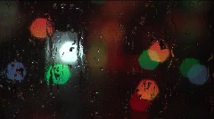 Colored lights and water 9 Stock Footage