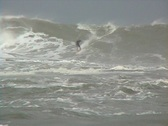 Stock Video Footage of Hurricane Surfing