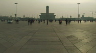 Stock Video Footage of Tiananmen Square in Beijing, China