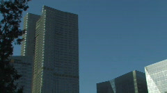 Chaoyang Business District in Beijing Stock Footage