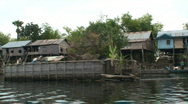 Stock Video Footage of Water village, cambodia