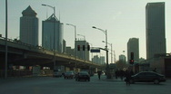 Stock Video Footage of Chaoyang Business District in Beijing
