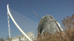 White architecture Stock Footage