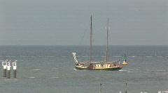 Dutch coast Stock Footage