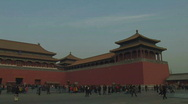 Stock Video Footage of The Forbidden City in Beijing, China