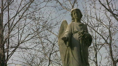 Winter angel. Stock Footage