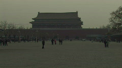 The Forbidden City in Beijing, China Stock Footage