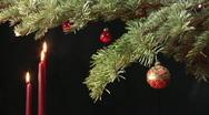 Christmas scene, still shot Stock Footage