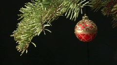 Christmas scene, still shot Stock Footage