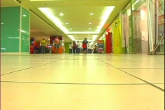 Inside Shopping Mall Stock Footage