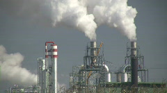 Chemical plant Stock Footage