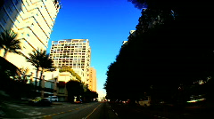 Streets of Los Angeles Stock Footage