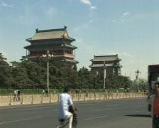 Man at the phone in china.pekin beijing. Stock Footage