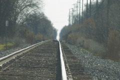 Train tracks 1 Stock Footage