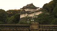 Stock Video Footage of Imperial Palace Tokyo Japan
