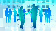 Business People at work -2 Stock Footage