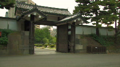 Imperial Palace Tokyo Japan Stock Footage