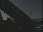 Stock Video Footage of Anti Aircraft Gun