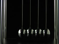 Pendulum swinging Stock Footage