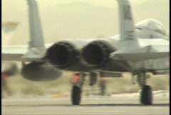 Jets Taxing 2 Stock Footage