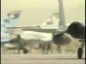 Stock Video Footage of Jets Taxing 2