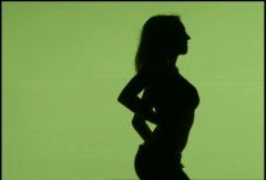 Female Nude Model 23 - stock footage