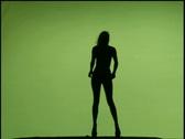 Female Nude Model 16 Stock Footage