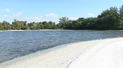 A Cove In Paradise Stock Footage
