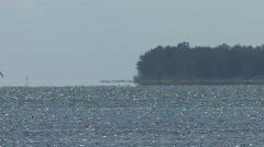 Distant Island - stock footage