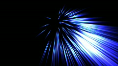 Blue Laser - Lights 06 (HD) Stock Footage