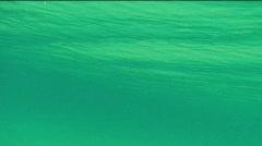 Underwater wave  Stock Footage