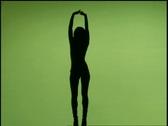 Female Nude Model 31 Stock Footage