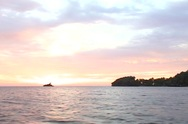Boat Ride at Sunset in Jamaica 03 Stock Footage