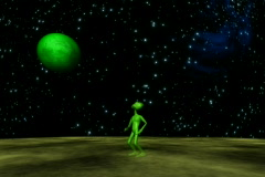 Alien Abduction NTSC Stock Footage