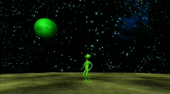 Alien Abduction HD1080 Stock Footage