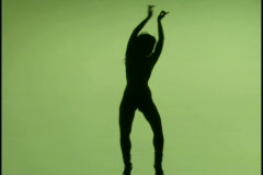 Female Nude Model 64 - stock footage