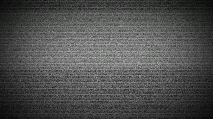 TV Static, HD 720p - stock footage