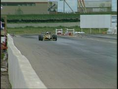 Motorsports, open wheel F1600 auto race, #1 Stock Footage