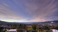 Stock Video Footage of Zurich HDR timelapse 10