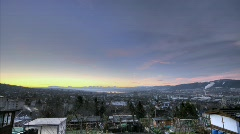Zurich HDR timelapse 2 - stock footage