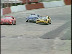 Motorsports, stock car race, #6 Stock Footage