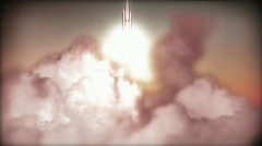 Rocket launch Stock Footage