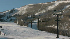 First Run Mountain CR Stock Footage