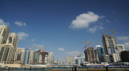 Stock Video Footage of Dubai Marina