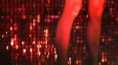 Red legs. Stock Footage