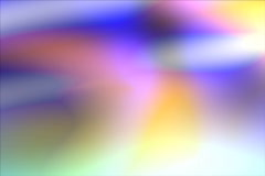 Wedding Motion Background -- Color Swirls 05 4x3 NTSC Stock Footage