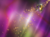 Wedding Motion Background -- Purple Yellow Rings Sparklers 4x3 NTSC Stock Footage