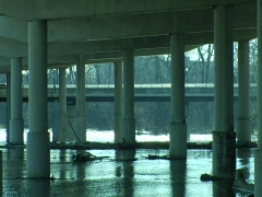 Freeway Underpass 01 Stock Footage